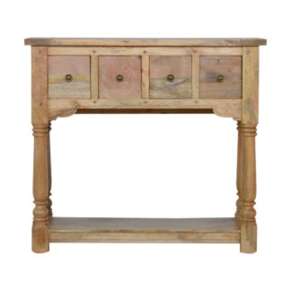 4 Dr Console Table