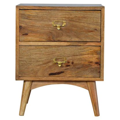 Nordic Style Two Drawer Bedside